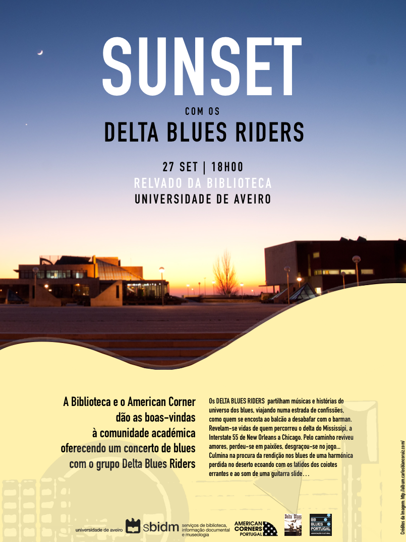 Sunset com Delta Blues Riders