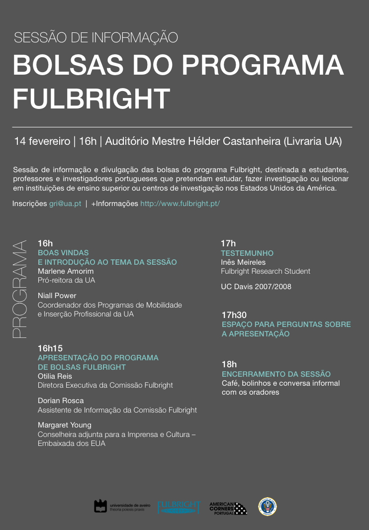 Bolsas do Programa Fulbright
