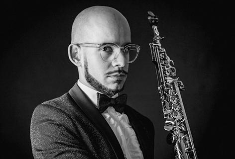 Henrique Portovedo - Saxofone e eletrónica